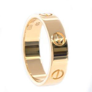 Cartier 18KT Yellow Gold Love Ring Screw Motif